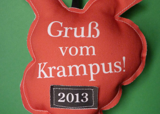 2013 Krampus Christmas Ornament