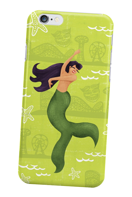 mermaid-phonecase-green